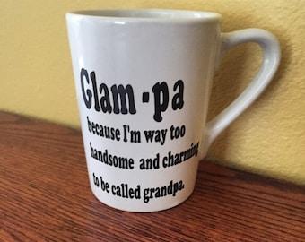 Glampa mug|Grandpa cofee mug|Grandpa gift