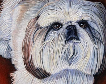 "8"" x 10"" Custom Pet Portrait"