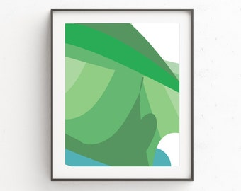 Green Abstract Art Prints, Modern Minimalist Poster, Minimalist Modern Prints, Minimalist Abstract Prints, Minimalist Abstract Wall Prints