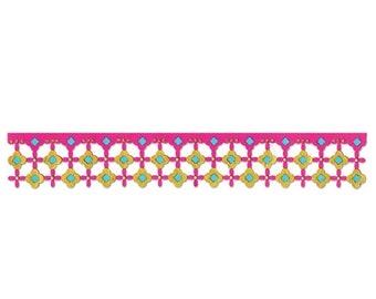 NEW LOW PRICE: Sizzix Sizzlits Decorative Strip Die - Marrakesh Tile  658392