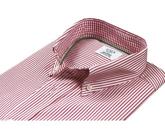 Organic cotton casual shirt - Venice Stripes
