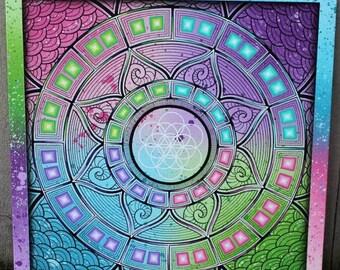 Sirius meditation mandala