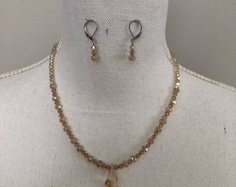 Hadmade Necklace and Earring Set