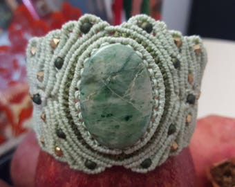 SOLD! Goddess jade wisdom bracelet