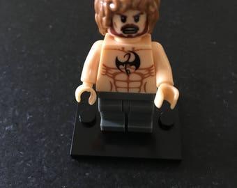 IRON FIST - Marvel Comics - Lego Compatible / Custom Minifigure / Cake Topper