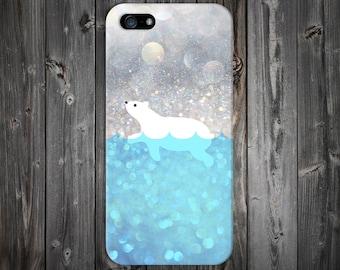Polar Bear Swim Case x Arctic Snow Design Case for iPhone 8 6 Plus iPhone X  Samsung Galaxy s9 edge s6 and Note 8  S8 Plus Phone Case