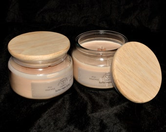 Wood Wick Butter Maple Syrup 10oz Soy Candle