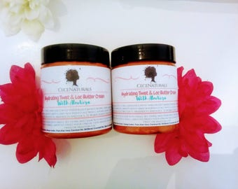 Hydrating Twist & Loc Butter Cream| Whipped Butter|Natural Hair Butter|Twisting Butter|Moisturizing Hair Butter| whipped Shea Butter|