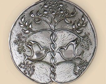 Perfect Union Pewter Wall Plaque