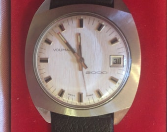 Voumard 2000 Watch Never Worn in Original Box