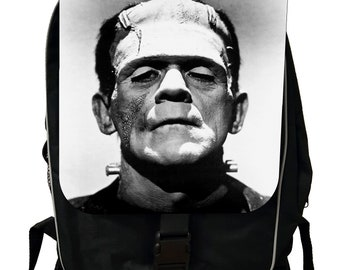 Frankenstein's Monster - Black School Backpack