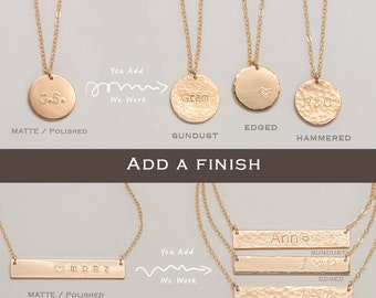 Add a special finish to your jewelry • ADF
