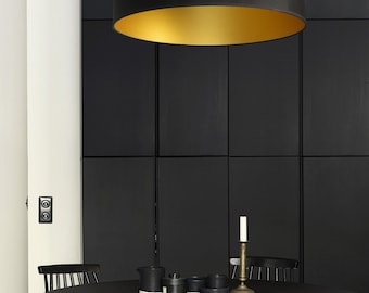 Black & Gold Pendant Lighting - Modern Pendant Lamp - Ponz Home Design