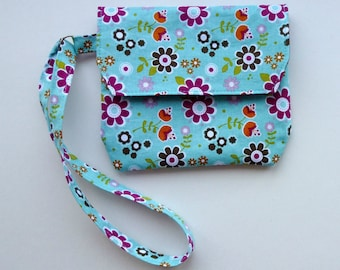 Slip Pocket Coin Purse Wristlet - PDF Sewing Pattern Instant Download - Simple Purse Clutch Bag