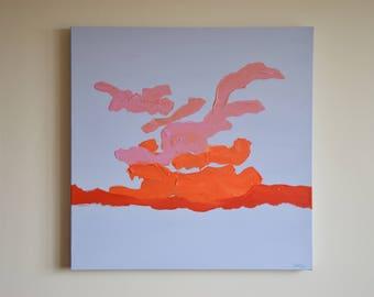 Original Sunset#1 Painting