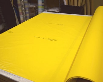"""Yellow Brad-Flex 6620 PVC Polymer Acoustic Sound Proofing Barrier 59"""" Wide By The Yard 36"""" Long"""