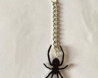 Earring Spider Punk Goth Deathrock Halloween