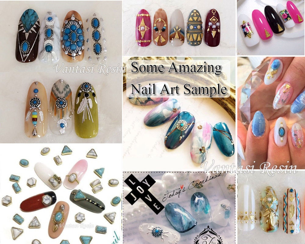 3mmx5mm triangle nail art studs charms charm 3D nails decal nail ...