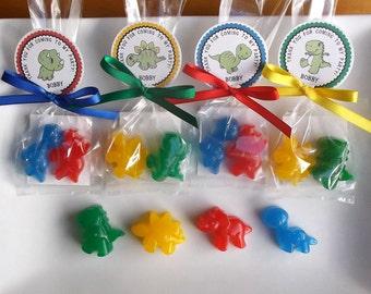 Dinosaur Party Favors - Dinosaur Favors, Dinosaur Party, Dinosaur Birthday Party, Dinosaur Soap - Set of 15