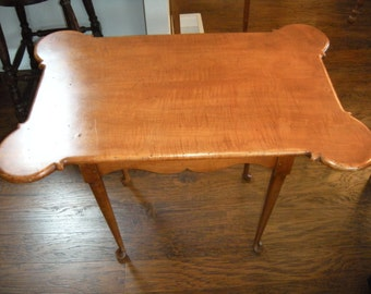 Antique Tiger Maple Table