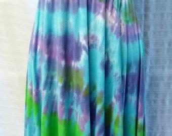 Beautiful I-N-C Up-cycled Tie Dye Convertible Dress/Skirt S