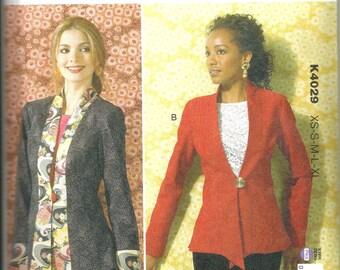 Kwik Sew 4029 new uncut size X small - X large womans jacket