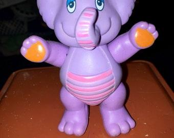 vintage 1985 Hasbro Disney wuzzles poseable action figure toy Eleroo