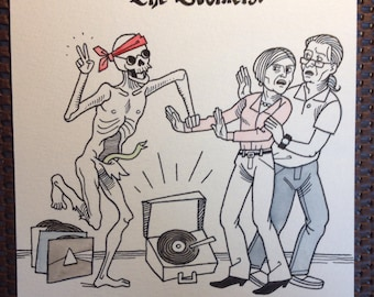 The Boomers, original art from Danse Macabre 2.0 by Dylan Meconis