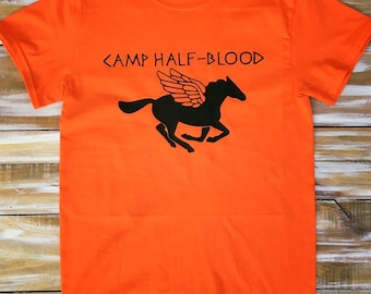 Percy Jackson Camp Half-Blood Shirt