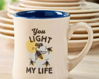 Fireflies Diner Mug