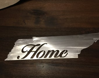 Tennessee Home sign