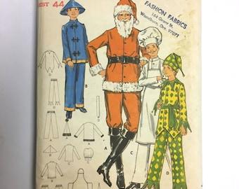 Vintage Sewing Pattern Men's 70's Uncut, Butterick 6399 Costumes (L/XL)