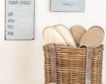 Linen terry slippers - Massage linen slippers - rough terry slippers,  linen sauna slippers - linen bath slippers - massage slippers