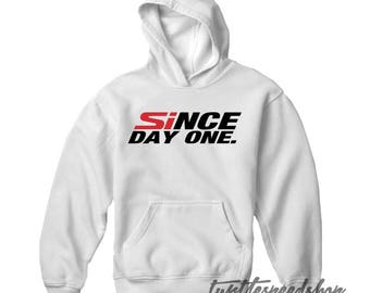 Since Day One Honda White Hooded Sweater