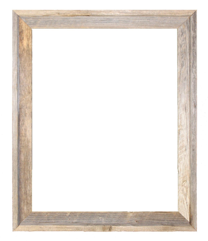 24x30 2 Wide Barnwood Reclaimed Wood Open Frame No