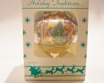 """Precious Moments """"Our First Christmas Together"""" Christmas Ornament In Original Box"""