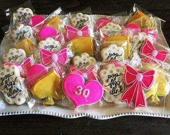 Kate Spade Inspired Cookies