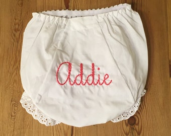 Monogram/Initial Personalized Diaper Cover