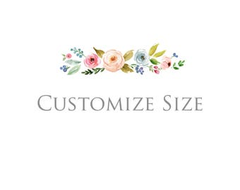 Customize Backdrop Size