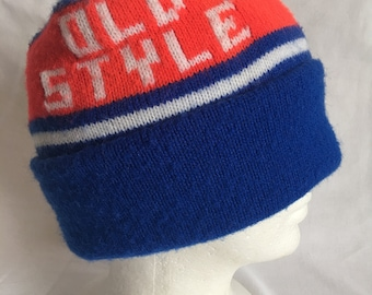 Old Style beer beanie