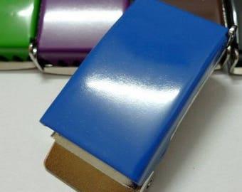 Royal Blue 25 mm metal belt buckles