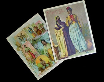 Vintage Antique 1890s McLaughlin's Coffee Trade Cards Lot 2