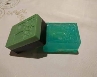 Handmade scrub soap