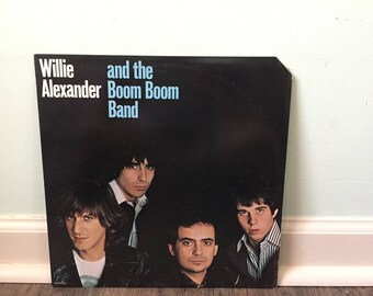 """Willie Alexander and the Boom Boom Band  """"Willie Alexander and the Boom Boom Band"""" vinyl record"""
