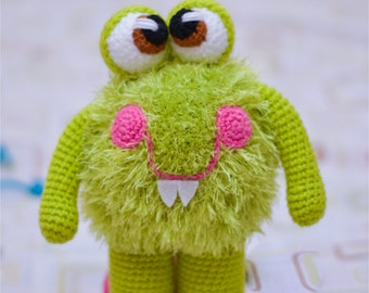 CROCHET PATTERN Monster