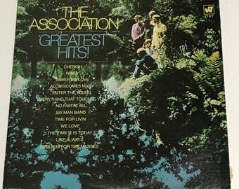 The Association Greatest Hits Vintage Vinyl Record