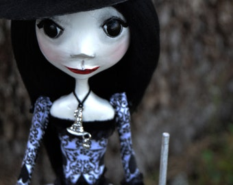 Custom Art Doll -Witch Art Doll - Halloween Art Doll - Witch Doll