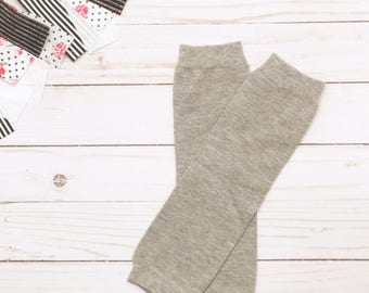 Baby Leg Warmers | Leg Warmers | Baby Leggings | Toddler Leggings | Gray Leggings | Baby Gifts | Leggings | Baby Pants | Unisex Leg Warmers