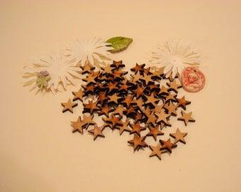 50 stars 1744 wood 0.8 mm approx
