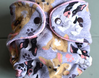 Pupply Love Fitted Cloth Diaper Size Medium/Large
